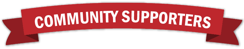 community supporters banner